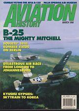 Aviation History (March 1998) (Avia B-135, B-25, C-47, Soviet Berlin Bombing)