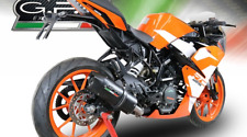 KTM RC125 2017/18 EXHAUST FURORE NERO BY GPR EXHAUSTS ITALY
