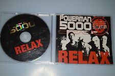 Powerman 5000 ‎– Relax. CD-SINGLE PROMO