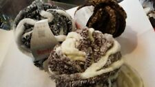Katia Jumbo chenille yarn to knit a cowl