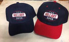 Hillary 2016 Collector Baseball Hat Clinton Presidential Run