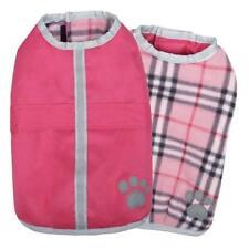 Noreaster Blanket Coat, USA Seller, Reversible Dog Jacket Reflective Fleece