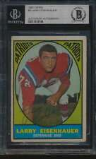1967 Topps #9 Larry Eisenhauer    Autographed BGS Authentic 56544