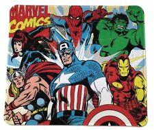 RETRO MARVEL COMICS HULK IRON MAN THOR CAPTAIN AMERICA MOUSE PAD 9 X 7inch USA