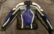 RST Cowhide Leather Biker Jacket With Removable Back Shoulder & Elbow Pads UK 40
