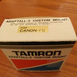 TAMRON ADAPTALL 2 CAMERA LENS MOUNT ADAPTOR / ADAPTER CANON FD