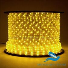 Yellow Rope Light Waterproof Led Neon Light for festival-25 Feet