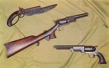 West Point Museum USMA New York NY Rare US Military Pistols Postcard