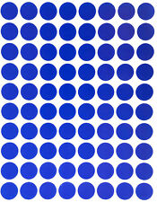 Blue Dot Stickers In Various Sizes 8mm 38mm Color Coding Label In 15 Sheets