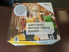 New Axis C2005 POE Network Ceiling Speaker