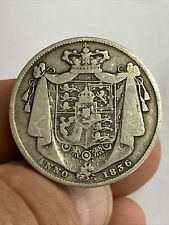 More details for 1836 king william iv halfcrown silver coin ww script s.3834 uk post free