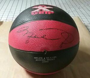 Michael Jordan Multi Signed x3 Mini Basketball Chicago Bulls One of a Kind