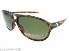 Tag Heuer Polarised 27 Degree Sunglasses TH6043 310 Tortoise / Green Precision