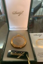 Davidoff  Round Cigar Cutter Bicolor  New In Box 90265 Made in France