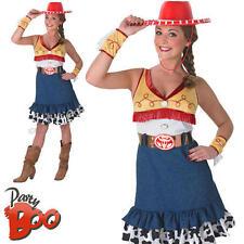 Ladies Sassy Jessie UK 8 10 Toy Story Disney Fancy Dress Adults Cowgirl Costume