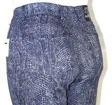 Guess Gray Black Snake Reptile Print Skinny Leg Denim Jeans Womens Size 28