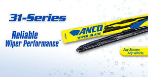 "2005-2010 Ford Explorer 3 Wiper Blades Set 20"" 20"" 13"" ANCO 31Series 31-20/31-13"