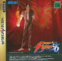 Sega Saturn The King of Fighters '96 Japan SS F/S
