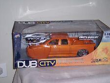 DUB CITY BIG BALLER$ DODGE RAM SPINTEK ST ORANGE -  1/18 -  NEW