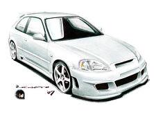 Paraurti anteriore HONDA CIVIC COUPE' 96->98 Tuning
