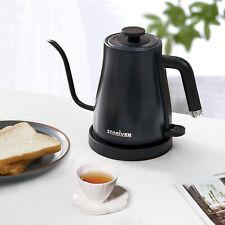 Stariver Electric Kettle Gooseneck, 1.2L Pour Over Coffee & Tea Pot, Dark Blue