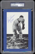 1934-44 Beehive Red Horner (Toronto Maple Leafs) Autographed/Signed -- PSA/DNA