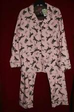 NWT~P.J. Salvage~Pajama/Lounge set~S~pants/top~HORSES/PINK~Super Soft Flannel!