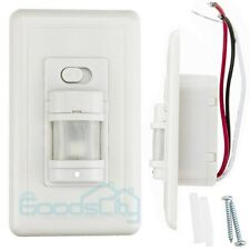 Infrared Motion Sensor Wall Switch PIR Manual On/Off Infrared Automatic Switch
