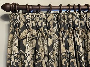 Good Quality interlined Used curtains