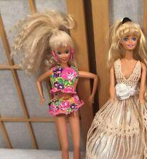 Vintage Mattel 1966 1968 Cow Girl Barbie Doll Clothes Shoes  Lot