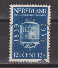 NVPH Netherlands Nederland nr 326 gest. used 1939 100 jaar Spoorwegen Pays Bas