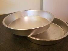 "Set of Two, Aluminium Pie Pans, 8.5"" X 1.5"" Unbranded"