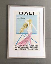 salvador dali exhibit poster