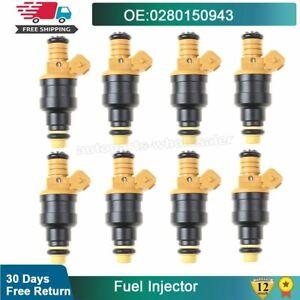 8X 0280150943 Fuel Injectors Fits Ford F150 F250 F350 E150 E350 4.6 5.0 5.4 5.8