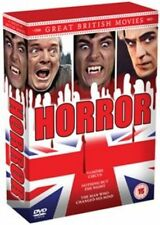 Great British Movies Horror 5060105721298 With Christopher Lee DVD Region 2