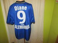 """Alemannia Aachen Nike Auswärts Trikot 1999/00 """"A M"""" + Nr.9 Diane Gr.XL TOP"""