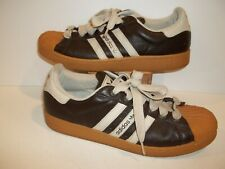 low priced 0b0ed 5eb5d MEN S SIZE 10.5, 10 1 2 ADIDAS LOW TOP SHELL TOE BROWN SNEAKERS SHOES