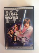 Star Wars A New Hope remastered (2004, DVD, widescreen, THX remastered)Authentic
