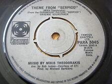 """MIKIS THEODORAKIS-Thème de """"Serpico"""" 7"""" vinyle"""