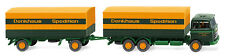 """Wiking 045601 - 1:87 - Flatbed Trailer (MB 2223) """" sped. Denkhaus -"""