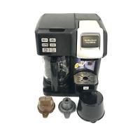 Black Hamilton Beach Model 49976 Flex Brew 12-Cup Coffee Maker