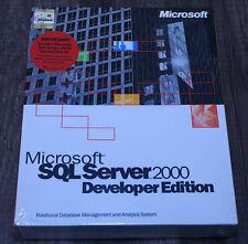 BRAND NEW Microsoft SQL Server 2000 Developer E32-00001 genuine