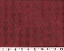 Holiday Chenille Clarence House Upholstery fr Italy Fabric La Strada Red