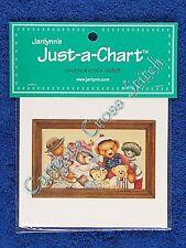 Cross Stitch Chart Bear Collector Old Fashioned Teddy Bears Pattern Alma Lynne
