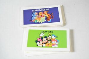 Monopoly Disney board game replacement pieces - chance & community chest cards