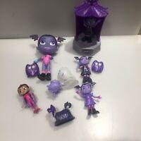 disney vampirina Family Play Set Figures Bundle Set Lot Vampire Playset