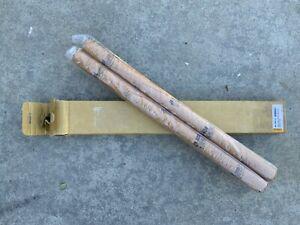 TRIUMPH FORK TUBE STANCHIONS SET 750cc T140 BONNEVILLE 1973-82  97-4380