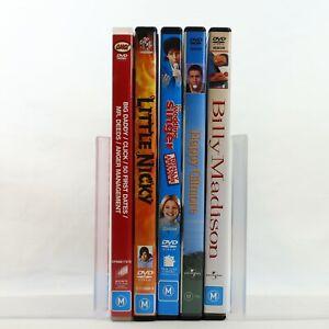 Adam Sandler 9 Movie 5 DVD Comedy Bundle Pack Happy Gilmore Little Nicky Madison