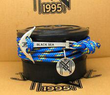 on Blue Maritime Bracelet & Necklace Superb Sterling Silver 925 Stylish Anchor