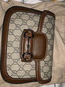 Authentic Gucci Horsebit 1955 Mini Bag